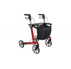 athlon sl rollator 5kg lichtgewicht rood