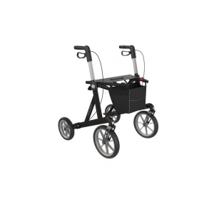 explorer rollator zwart  extra breed