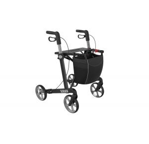 server rollator 7.5 kg zwart
